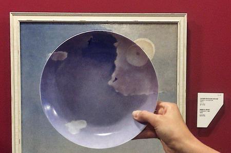 Русское реалистичное искусство на тарелках МАТЕО