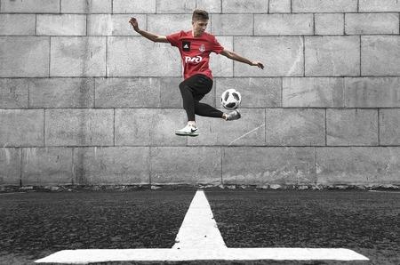 Фотоистория о футбольном фристайле. Дворовый футбол