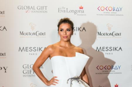 Ева Лонгория вновь появилась на Global Gift Gala в Каннах