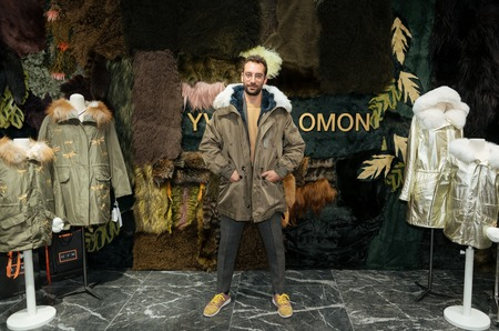 Звезды на открытии Pop-up Store Yves Salomon