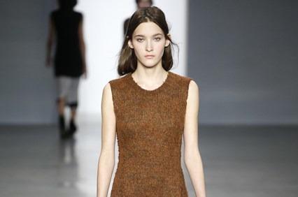 Уютная коллекция Calvin Klein, ready-to-wear. Осень-зима 2014-15