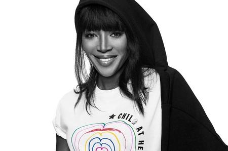 Наоми Кэмбелл в благотворительной кампании Diesel