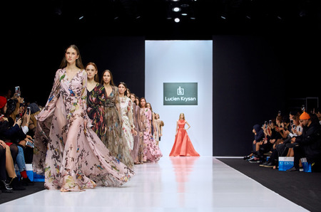 Модный бренд Lucien Krysan представил коллекцию вечерних платьев