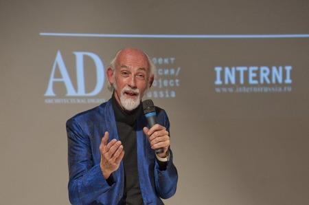 Британский дизайнер Росс Лавгроув провел первую лекцию в Москве