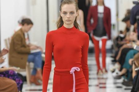 Неделя моды в Лондоне: Victoria Beckham. Весна, 2019
