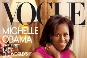 Мишель Обама на обложке американского Vogue