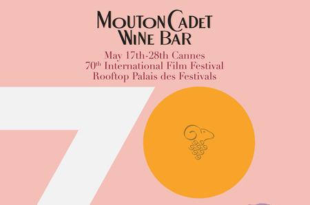 По случаю 70-го Международного Каннского Кинофестиваля, свои двери откроет Mouton Cadet Wine Bar