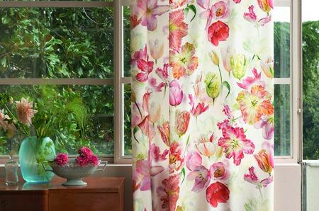 Designers Guild представил юбилейную коллекцию Grandiflora Rose