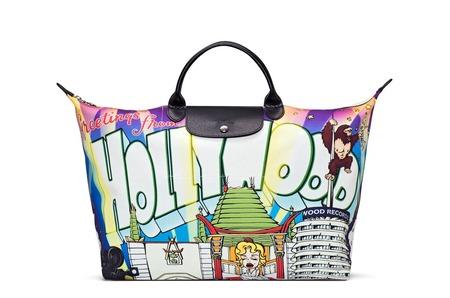 GREETINGS FROM HOLLYWOOD — новая сумка Джереми Скотта для Longchamp