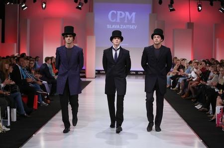 Презентация новой коллекции ТМ Slava Zaitsev Men's Wear  на CPM