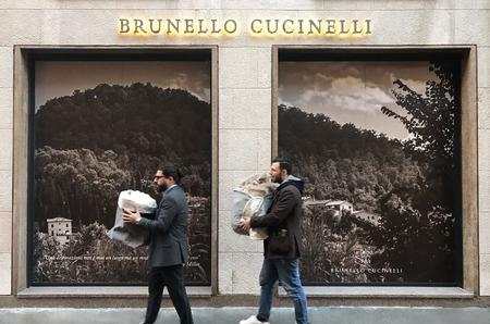 Brunello Cucinelli представил новую концепцию бутиков