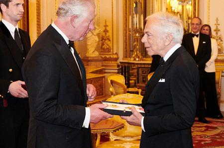 Ральф Лорен стал рыцарем Британской империи