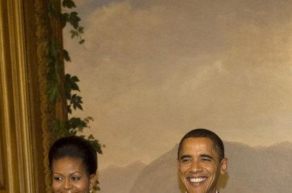 Calvin Klein одел Мишель Обаму