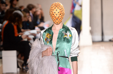 Maison Martin Margiela haute couture осень-2014