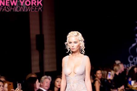 Топ-модель из России Анна Белис покоряет Нью-Йорк