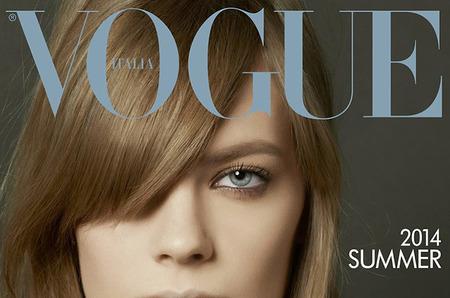 Лекси Болинг в объективе Стивена Майзела для Vogue Italy Май 2014