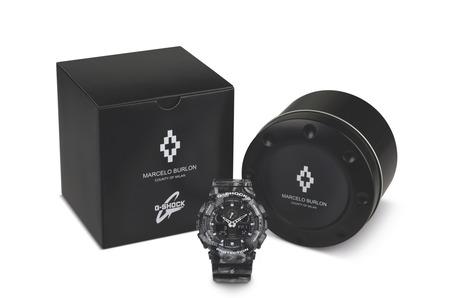 Часы G-SHOCK X MARCELO BURLON в змеиной коже