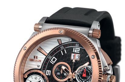 Часовой бренд Seculus расширил коллекцию мужских спортивных часов