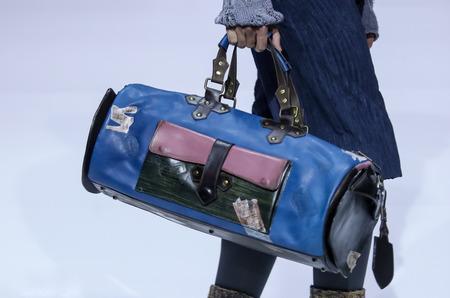 Сумки Ante Kovac на модном показе в рамках Недели Моды в Москве.