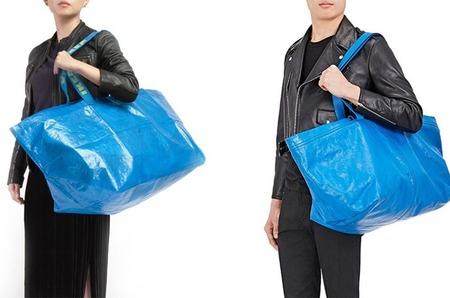Демна Гвасалия вдохновляется хозяйственной сумкой Ikea