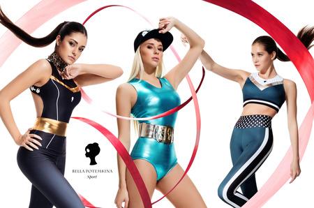 Российские чемпионки в лукбуке спортивной коллекции Bella Potemkina Sport