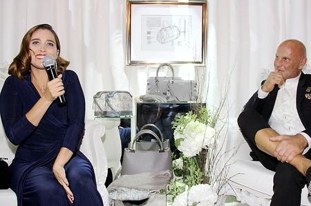 Ваина Джоканте представила в Москве коллекцию аксессуаров в свою честь