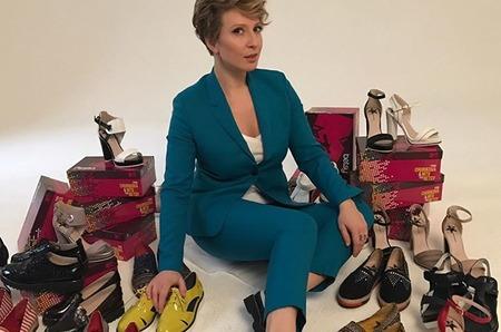 Яна Чурикова представила свою новую коллекцию обуви «Yana Churikova & MTV for Betsy»