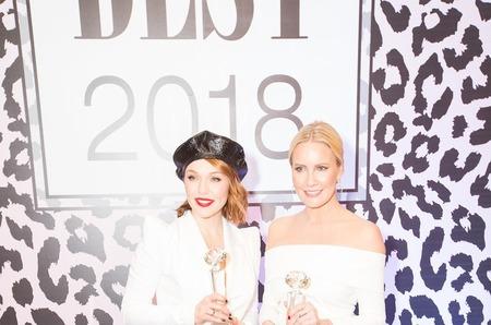Журнал MODA topical и Центр Красоты и Здоровья Best представили: Юбилейная 10-я ежегодная премия  «Пара Года BEST 2018»!