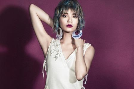 Стильная Ли Вей для Elle Vietnam июль 2014