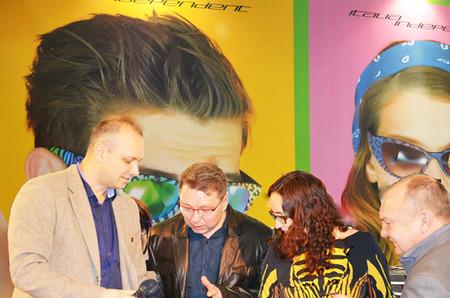 Новая коллекция очков Italia Independent была представлена на выставке MIOF