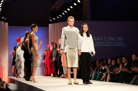 Алекса Чанг, Кэлвин Кляйн на выставке Future of Fashion