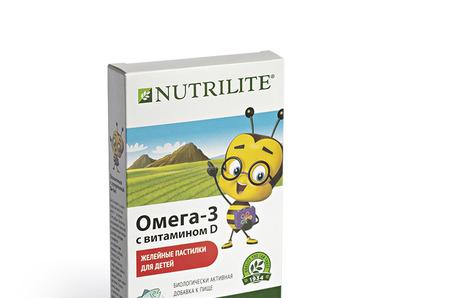 Для больших побед маленьких героев: Омега-3 с витамином D от Nutrilite™