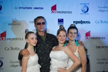 Голливуд-Россия: кино и благотворительность.