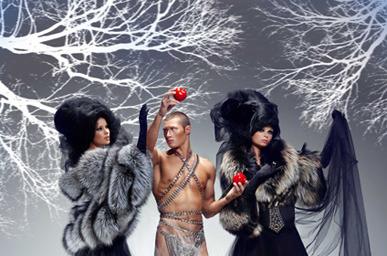 Igor Gulyaev на Volvo fashion week