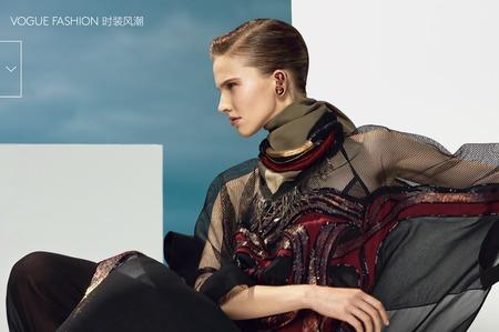 Саша Лусс для Vogue China Июнь 2014