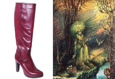 Туфли кикиморы