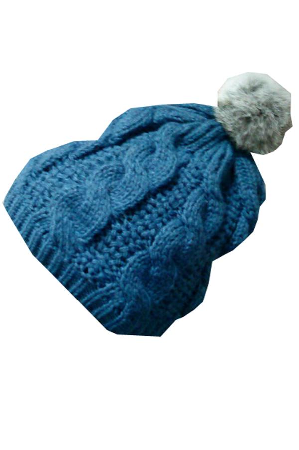 вязание шапки двумя спицами схемы