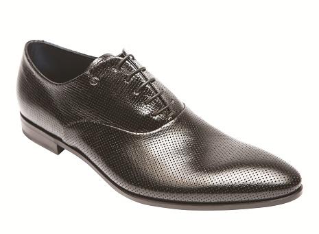черные мужские ботинки оксфорды от Fabi