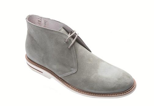 серые мужские ботинки Chukka Boot's от Soldini