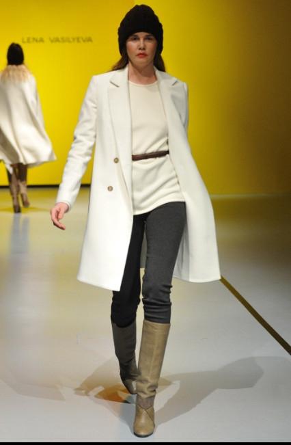Белое пальто с чем носить 2