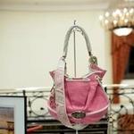 """сумка  """"Brigitte Bardot """" от компании Lancel."""