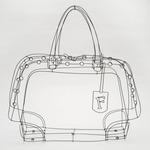 Инсталляция сумки ROYAL художницы Чизу Кобаяши для FURLA.