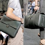 Фотогалерея.  Мужские сумки Louis Vuitton, весна-лето 2010.