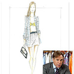 - дизайнерские эскизы одежды Модная.
