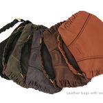 В духе модных тенденций сумки от Benetton.