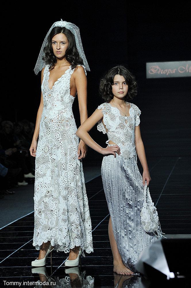 Флора Мази и ее ангел.