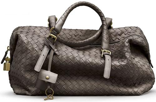 Плетеная сумка Bottega Veneta из коллекции осень-зима 2009/10.