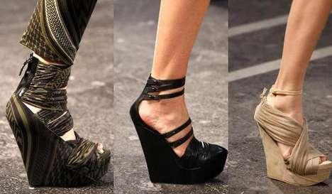 Модная Обувь На Танкетке