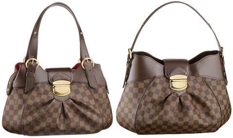 В коллекции Louis Vuitton вновь пополнение.  Новая сумка Damier Sistina...