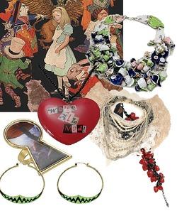 """Том Биннс представит коллекцию украшений в стиле  """"Алисы в стране чудес """""""